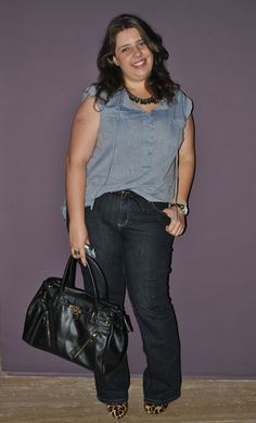 Look do Dia: jeans + jeans    http://blogshopaholic.com.br/2012/04/13/looks-do-dia-jeans-jeans/