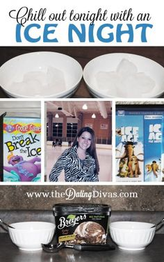 Ice, Ice, Baby!!  Surprise your spouse or kids with a fun ice-themed night! www.TheDatingDivas.com #datenight #dateideas #thedatingdivas