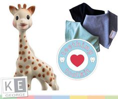 Countdown to opening: 7 days left! Check out this toolkit for happy smiles. Purchase a pack of dribblies plus a Sophie La Giraffe and get off your purchase! T's and C's apply, while stocks last, E &