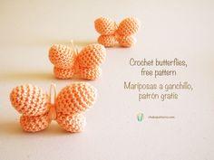 Crochet Butterflies - Photo Tutorial  ❥ 4U // hf http://www.pinterest.com/hilariafina/