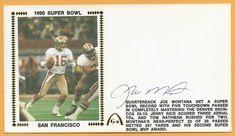 Joe Montana Super Bowl 24 XXIV ERROR Autographed Gateway Stamp Envelope  Postmark  SanFrancisco49ers Joe Montana eeb46382a