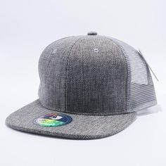 6ca26aebbb0 Pit Bull Linen Trucker Hats Wholesale  Grey