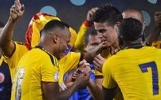 @Colombia Selection: Colombia 1 Ecuador 0: #CamiloZuñiga #JamesRodriguez #PabloArmero