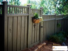 The Talmedge ™ Wood Privacy Fence | Pictures & Per Foot Pricing