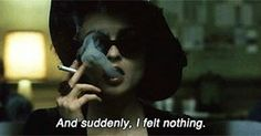 """""""Mi piace"""": 42, commenti: 1 - The invisible friend (@whereismytate) su Instagram: """"🌙...I couldn't cry, so once again I couldn't sleep🌙 📷#fightclub •••