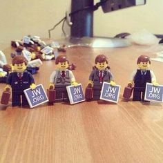 JW.org Lego. I love Lego's!!! I must find me some of these!!!!