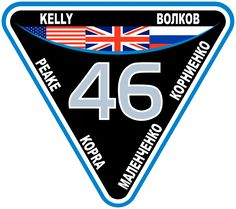 ISS Expedition 46 Patch. Expedition 46 began with the departure of Soyuz TMA-17M on 11 December 2015 and concluded upon the departure of Soyuz TMA-18M on 1 March 2016, and the crew of Soyuz TMA-19M transferred to Expedition 47. The expedition has the first British ESA astronaut (Tim Peake) to visit the International Space Station (ISS