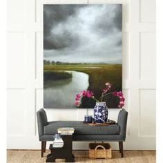 Storm Over The Marsh Giclee | Ballard Designs Im obsessed with this print but have no idea where i would put it