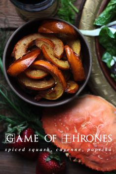 Game of Thrones: Spiced Squash - Feast of Starlight Game Of Thrones Food, Medieval Recipes, Ancient Recipes, Food Themes, Food Inspiration, Food And Drink, Spices, Cooking Recipes, Healthy Recipes