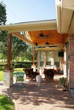 218 Best Patio Covers Porches Images Front Porches Verandas Decks