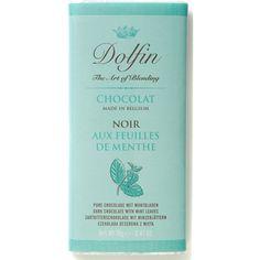 CHOCOLATE NEGRO CON HOJA DE MENTA Dolfin