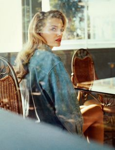 Lily Donaldson with vintage waves by Tom Craig for Porter Magazine