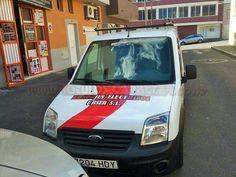 Rotulación sencilla de vehículo comercial. Van, Commercial Vehicle, Vans