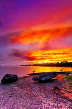 Shoalhaven River Sunset NSW Australia... See more beautiful places at www.fabuloussavers.com/wplacessix.shtml