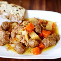 Traditional Dublin Coddle for St. Patrick's Day #recipe