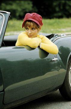 Marie-France Pisier, photo by Jean-Claude Deutsch, August, 1966