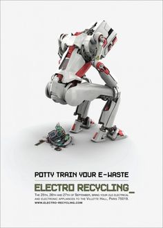 Ad for Electro Recycling