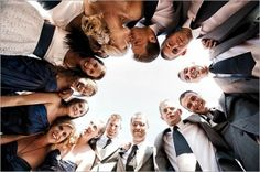Group Photography Ideas: 20 Creative Wedding Poses for Bridal Party by chasity