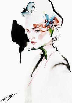 Fashionary Hand - A Fashion Illustration Blog Gary Tu