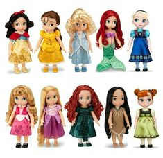 "Collection 16"" Toddler Doll Princess Snow White Rapunzel Ariel Aurora Belle Merida 25pcs for chooes"