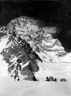 Vittorio Sella, Camp Below the West Face of K2, Karakoram, June, 1909