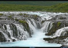 Bruarfoss (gemaakt in Rondom Reykjavik) Waterfall, Outdoor, Europe, Pictures, Outdoors, Waterfalls, Outdoor Games, Rain