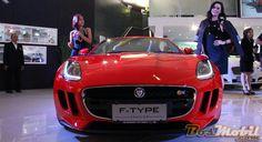 Jaguar F-Type Dan All New Range Rover Sport Tebar Pesona Di IIMS 2013  #BosMobil