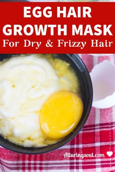 5 Egg Mask For Hair Growth And Deep Condition