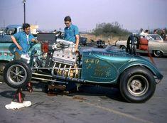 Vintage Drag Racing - Bowers, Paris, & Reed