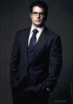 nibbleynoonoo:  So at the end of Superman:Man of Steel Clark Kent dons his familiar thick rimmed glasses; A ploy that usually helps to make him less conspicuous, almost dorky. However, Henry Cavill who plays the part of Kal-El/Clark Kent/Superman turns around, AND HE'S EVEN MORE HANDSOME! How is he supposed to blend in when he's the best looking guy at the Daily Planet??!! *TSK TSK TSK*