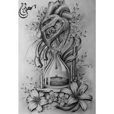 41 Ideas Tattoo Frauen Motiv Sanduhr - My list of best tattoo models Neue Tattoos, Body Art Tattoos, Sleeve Tattoos, Arm Tattoos, Tattoo Arm, Tiny Tattoo, Art Drawings Sketches, Tattoo Sketches, Tattoo Drawings