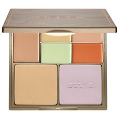 Shop stila's Correct & Perfect Palette at Sephora. It features two Pressed Finishing Powders and five Cream Correctors to neutralize imperfections.