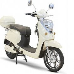 New Ewheels Electric Moped Cream with Lithuim Battery and smart charger Electric Moped Scooter, Moped Bike, Vespa Scooters, Electric Bicycle, Motorcycle, Electric Mopeds, Bike Rides, Drum Brake, Motorbikes