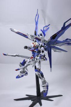 1/100 Freedom Gundam Blue Phoenix - Customized Build