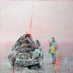 """Death's celebration"" by Fernando Gomez Balbontin"