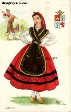 traditional costumer for asturias spain - Google Search