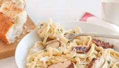 If you love spicing things up at the table, try this Blackened Chicken Fettuccine Alfredo.