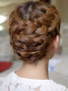 updos for long hair and braids - Google Search
