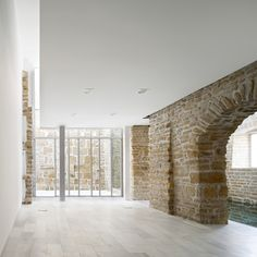 View full picture gallery of Rehabilitation Ancient Royal Butcher XVI Century In Porcuna Historical Architecture, Interior Architecture, Materials And Structures, Exposed Brick, Modern Buildings, Dream Decor, Future House, Restoration, House Design