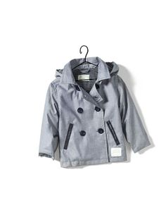 hooded chambray trench coat - Collection - Baby boy (3-36 months) - Kids - SALE - ZARA
