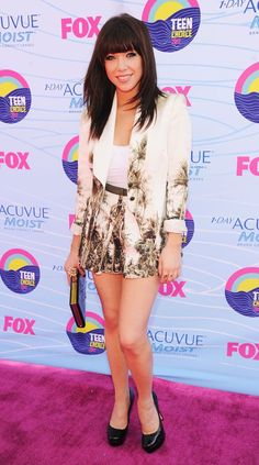 Carly Rae Jepsen. 2012 Teen Choice Awards.