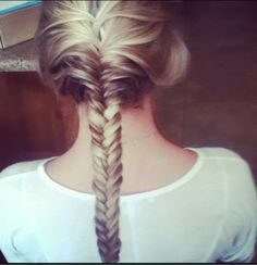 French fishtail (: