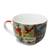 Caneca Sopa HQ Colors Marvel