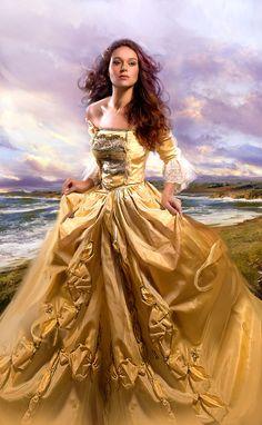 The Smugglers Lady (by Jon Paul Studios) [yellow dress]