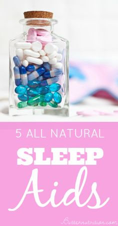 Can't sleep? 5 Natural Sleep Aids: You'll LOVE #1! | Butter Nutrition