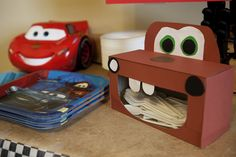 Mater silverware holder out of tissue box