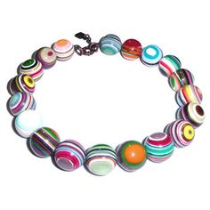 Pop Balls Necklace now featured on Fab.  I WANT THIS!!!
