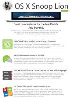 OS X Snoop Lion, From Apple | Slacktory | This seems legit.