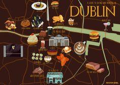 Dublin Food Map - Kirsten Shiel