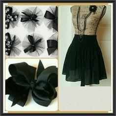 ♡HOST PICK♡ Cute little high waisted black skirt Cute little black high waisted skirt. Gathering at the waistline. Cotton. Beautiful cond.  Never worn. H&M Skirts